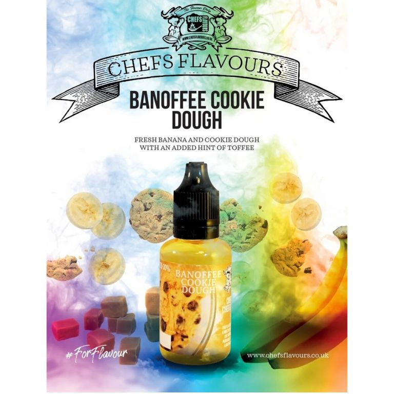 Chefs Flavours Banoffee Cookie Dough