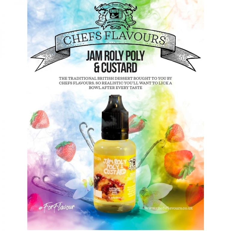 Chefs Flavours Aroma Jam Roly Poly