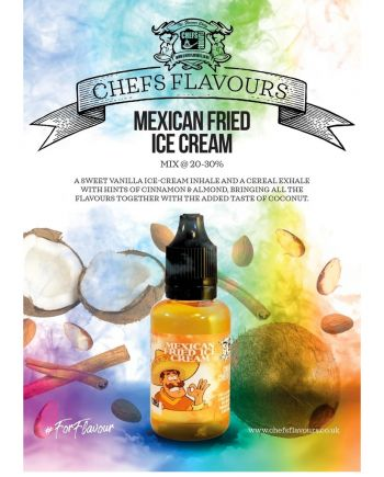 Chefs Flavours Mexican Fried Ice Cream