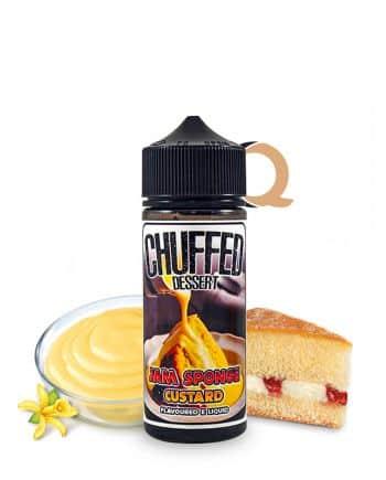 Chuffed Dessert Jam Sponge Custard