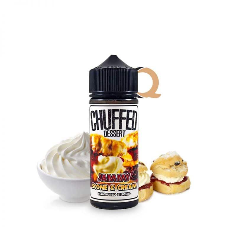 Chuffed Dessert Jammy Scone & Cream