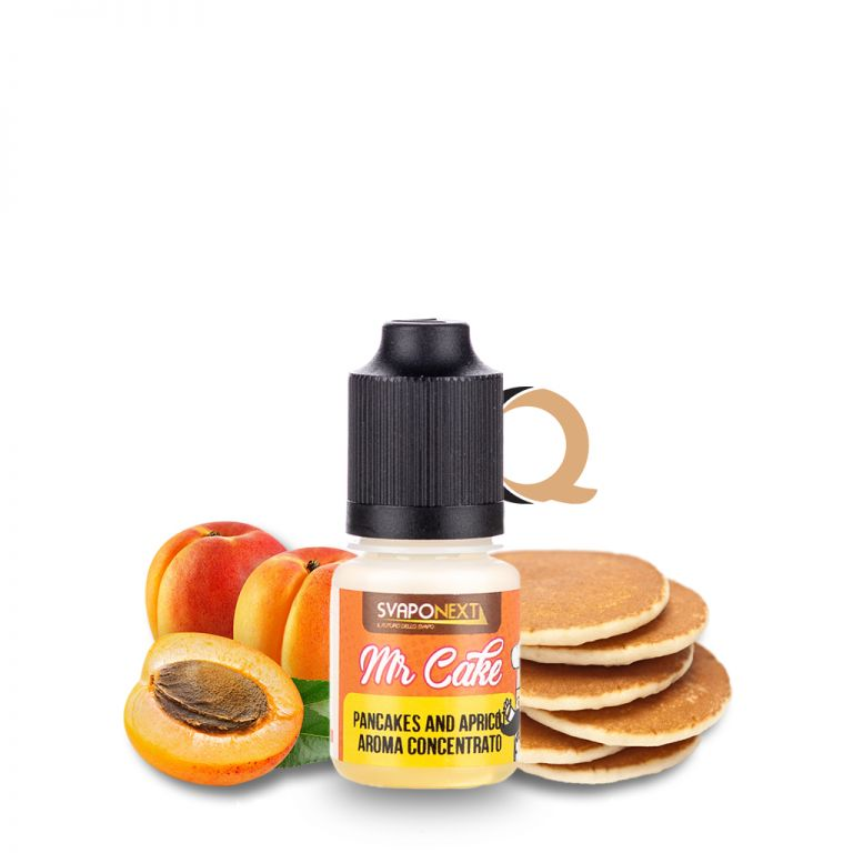 SvapoNext Mr Cake Pancakes and Apricot