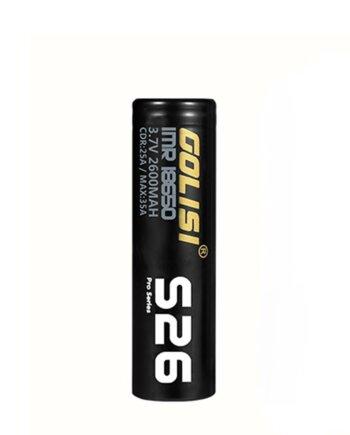 Golisi Batterie S26 18650 2600mAh