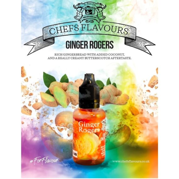 Chefs Flavours Aroma Ginger Rogers