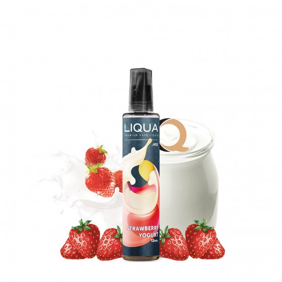 Liqua Mix&Go Longfill Strawberry Yogurt
