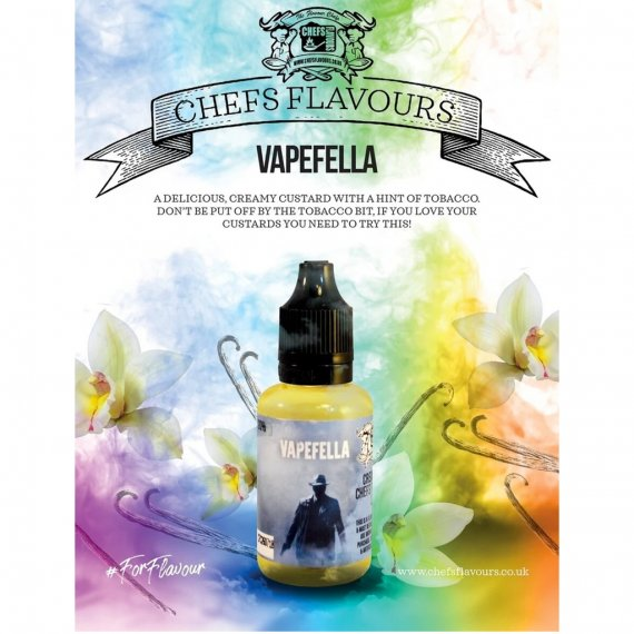 Chefs Flavours Vapefella