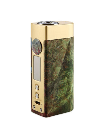 Woody Vapes Stabilized Wood SIII Gold