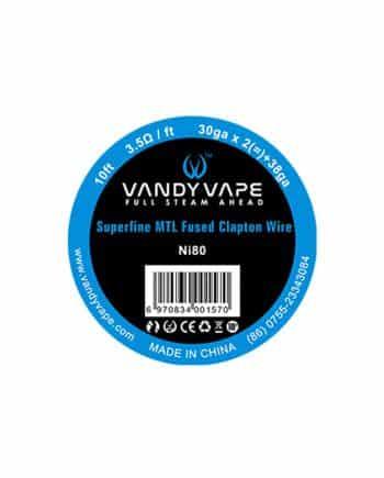 Vandy Vape žica Ni80 Superfine MTL Fused Clapton 30ga * 2(=)+38ga