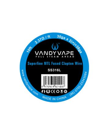 Vandy Vape žica SS316L Superfine MTL Fused Clapton 30ga * 2(=)+38ga
