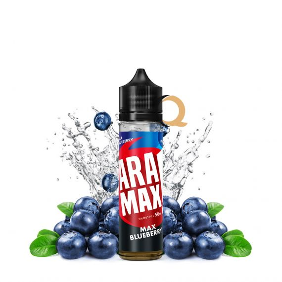 Aramax Short Fill Max Blueberry