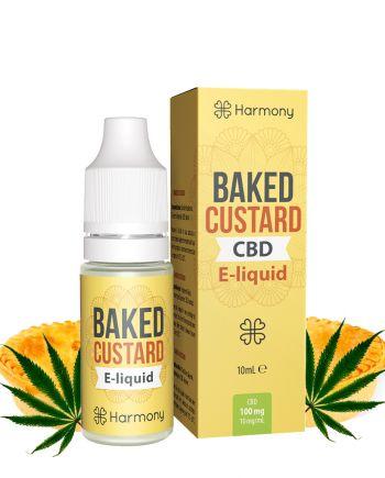 Harmony CBD Baked Custard