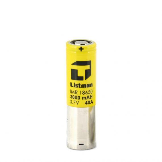 Listman baterija ACCU 18650