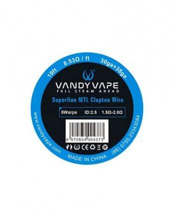 Vandy Vape žica Ni80 Superfine MTL Clapton Wire 30ga + 38ga