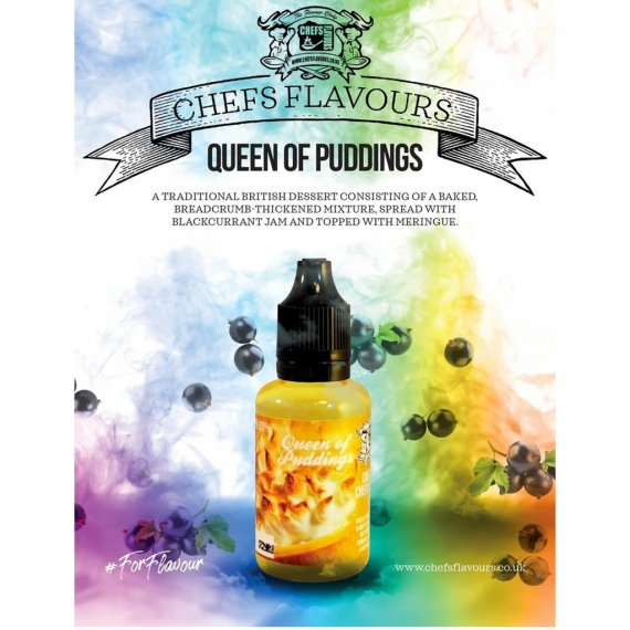 Chefs Flavours Queen of Puddings