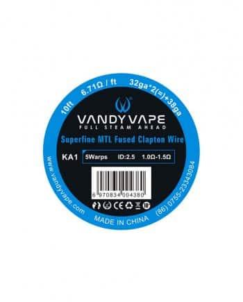 Vandy Vape žica KA1 Superfine MTL Fused Clapton 32ga * 2(=)+38ga