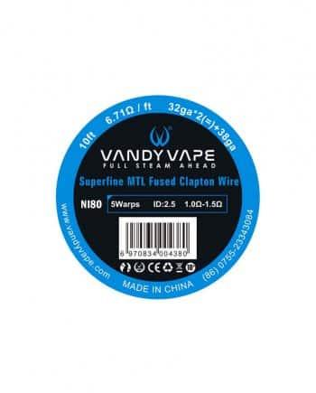 Vandy Vape žica Ni80 Superfine MTL Fused Clapton 32ga * 2(=)+38ga
