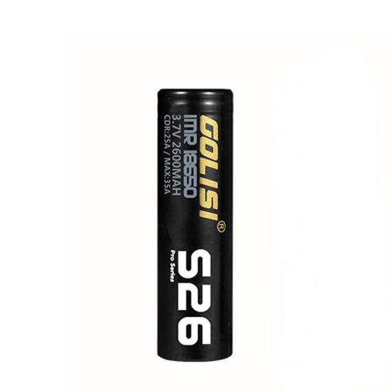 Golisi baterija S26 18650 2600mAh